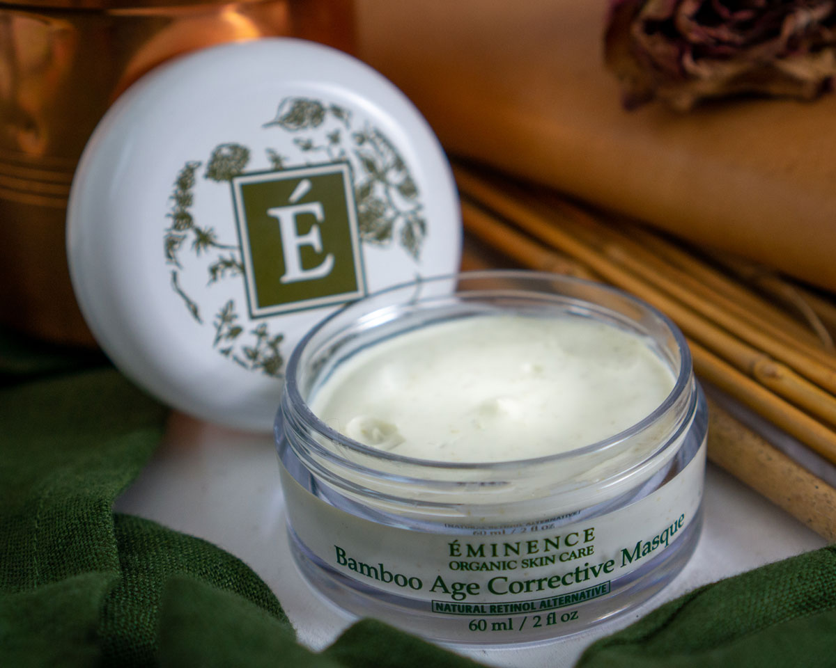 Bamboo Age Corrective Masque for a winter facial